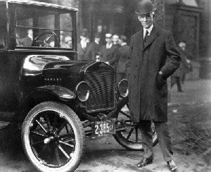 Henry Ford and his Model T